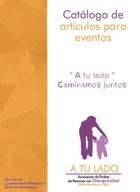 Catálogo de artículos para eventos 2.021